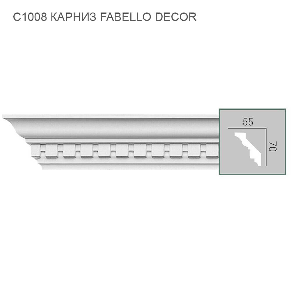 C1008 Fabello Decor карниз