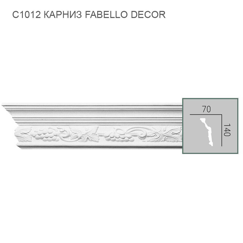 C1012 Fabello Decor карниз