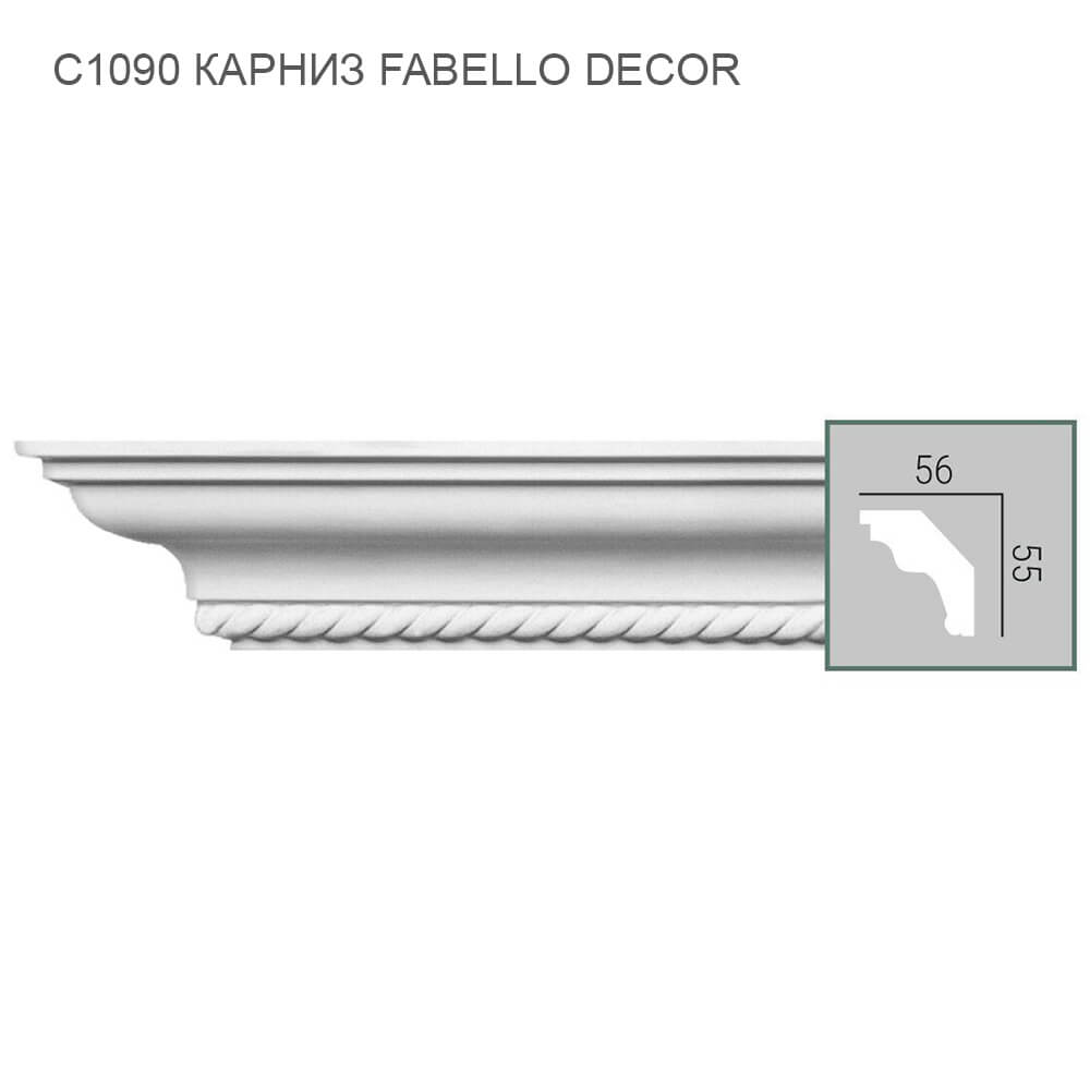 C1090 Fabello Decor карниз