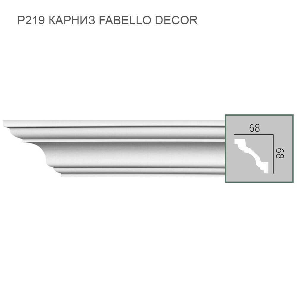 P219 Fabello Decor карниз