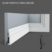 SX180 Orac Decor плинтус