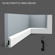 SX182 Orac Decor плинтус